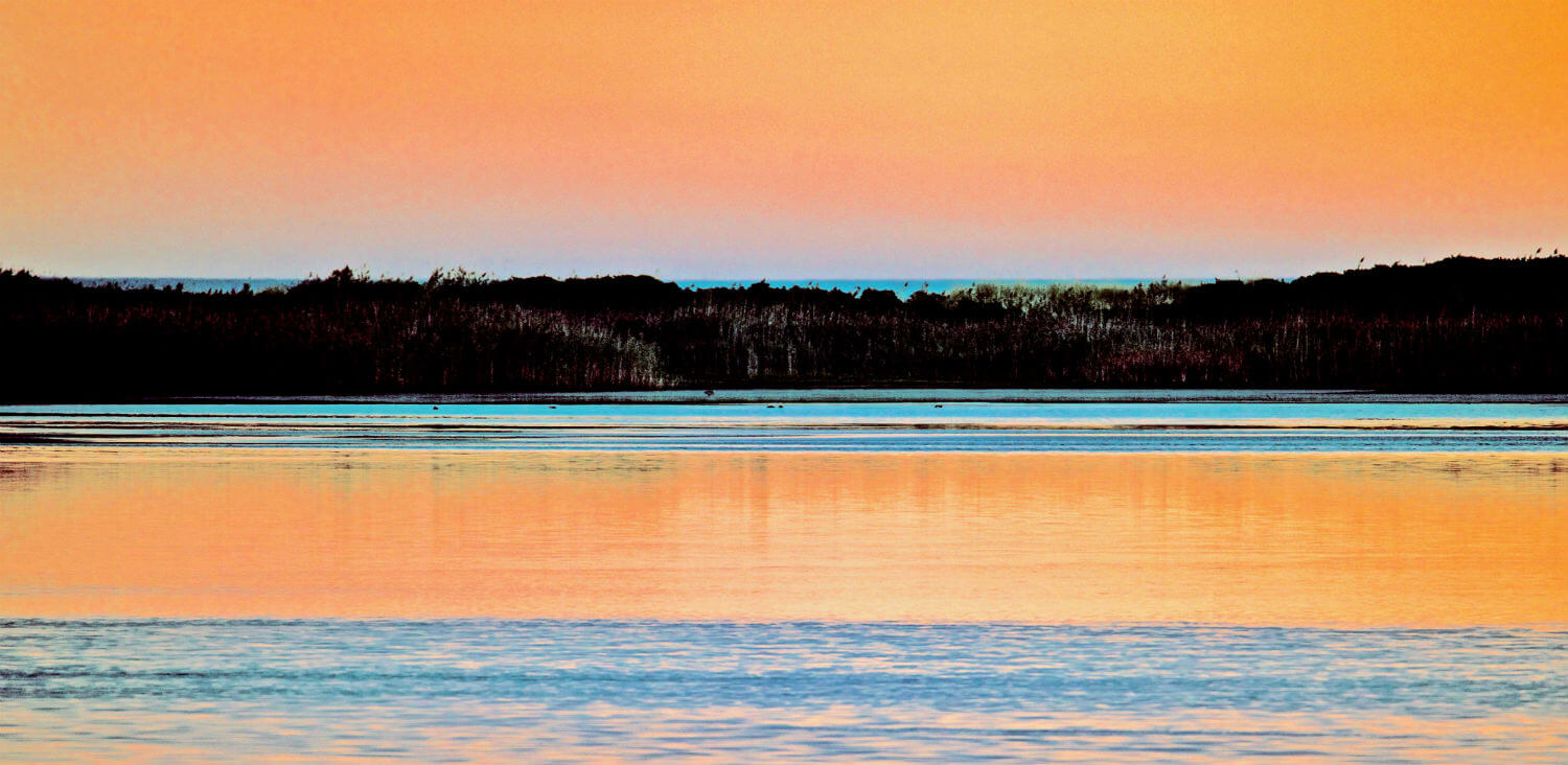 "Briggs Color I, 40"" x 60"" marsh sunrise liz fiedorek fine art photography ny rhode island"
